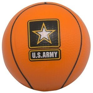 Slow Return Foam Squeezies® Basketball Stress Reliever